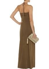 T-Bags Venezia ruched stretch-jersey maxi dress