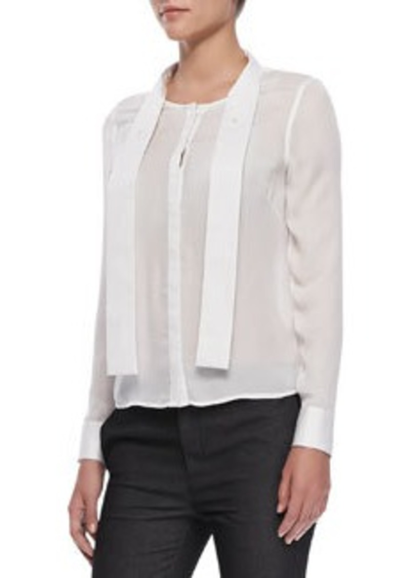J Brand Ntalya Long-Sleeve Blouse   Ntalya Long-Sleeve Blouse