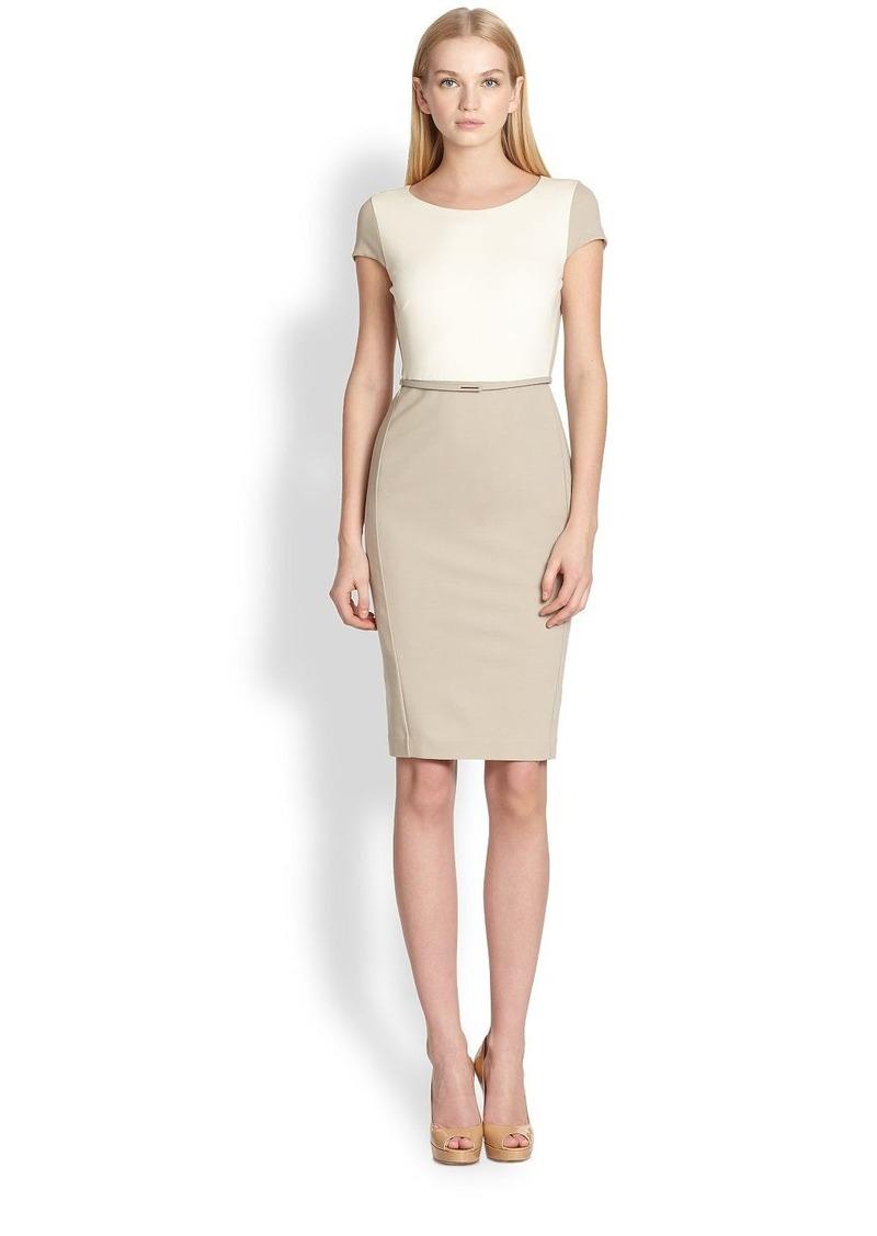 max mara max mara guelfi colorblock sheath dress dresses shop it to me. Black Bedroom Furniture Sets. Home Design Ideas