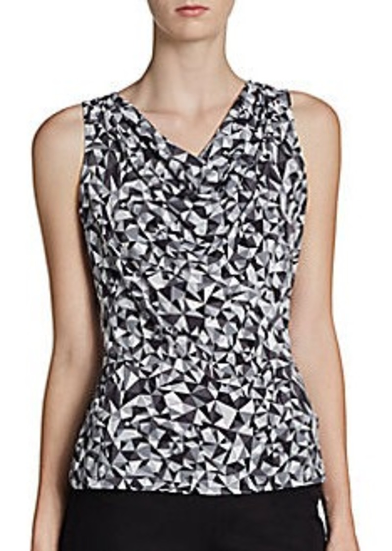 Calvin Klein Diamond Print Top