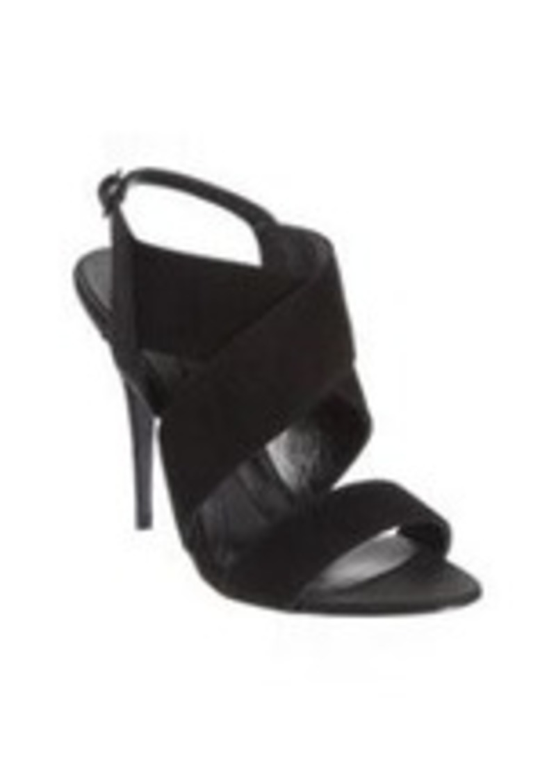 Narciso Rodriguez Embossed Crisscross Sandal