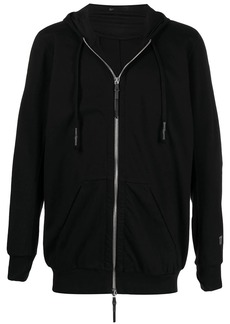 11 by Boris Bidjan Saberi front-zipped hoodie