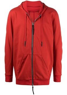 11 by Boris Bidjan Saberi drawstring zipped hoodie