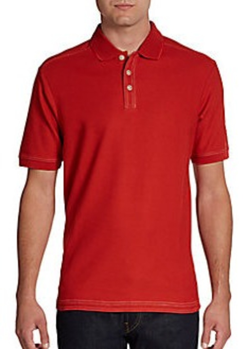 Tommy bahama tommy bahama emfielder pique polo casual for Tommy bahama polo shirts on sale