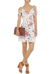 Joie Sari floral-print silk-crepe mini dress