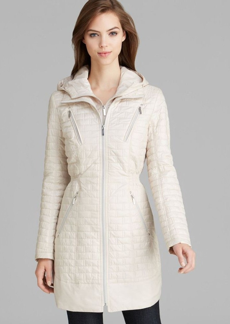 Laundry by Shelli Segal Coat - Mini Brick Quilted