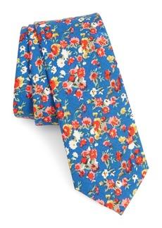 1901 Ager Floral Cotton Tie