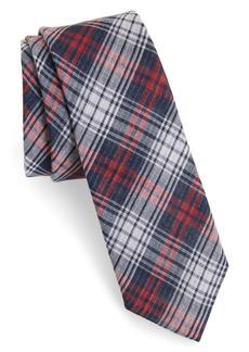 1901 Basin Plaid Cotton Tie