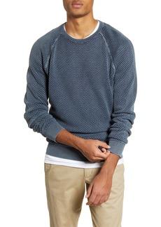 1901 Bubble Knit Raglan Sweater