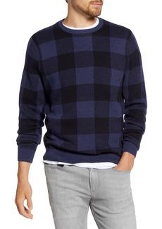 1901 Buffalo Check Crewneck Sweater
