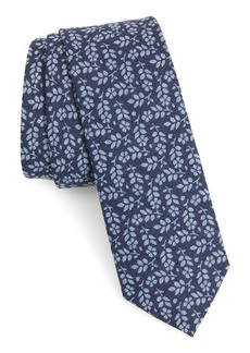 1901 Carlisle Floral Cotton Tie