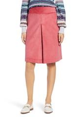 1901 Corduroy Knee Length Skirt (Regular & Petite)