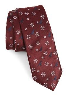 1901 Dino Holiday Silk Tie