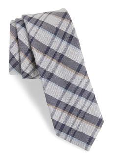 1901 Duffy Plaid Linen & Silk Tie