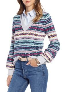 1901 Fair Isle Cotton Wool Sweater (Regular & Petite)
