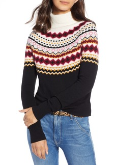 1901 Fair Isle Turtleneck Sweater