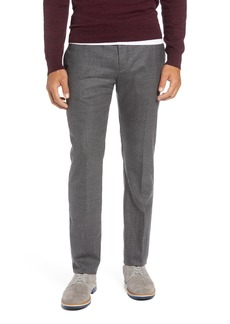 1901 Flat Front Mélange Wool Extra Trim Fit Trousers