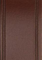 1901 Line Edge Roller Buckle Leather Belt