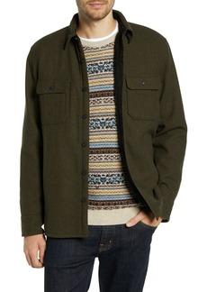 1901 Lined Wool Blend Shirt Jacket
