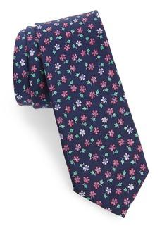 1901 Merkley Floral Skinny Silk Tie