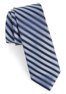 1901 Milliner Stripe Silk Tie