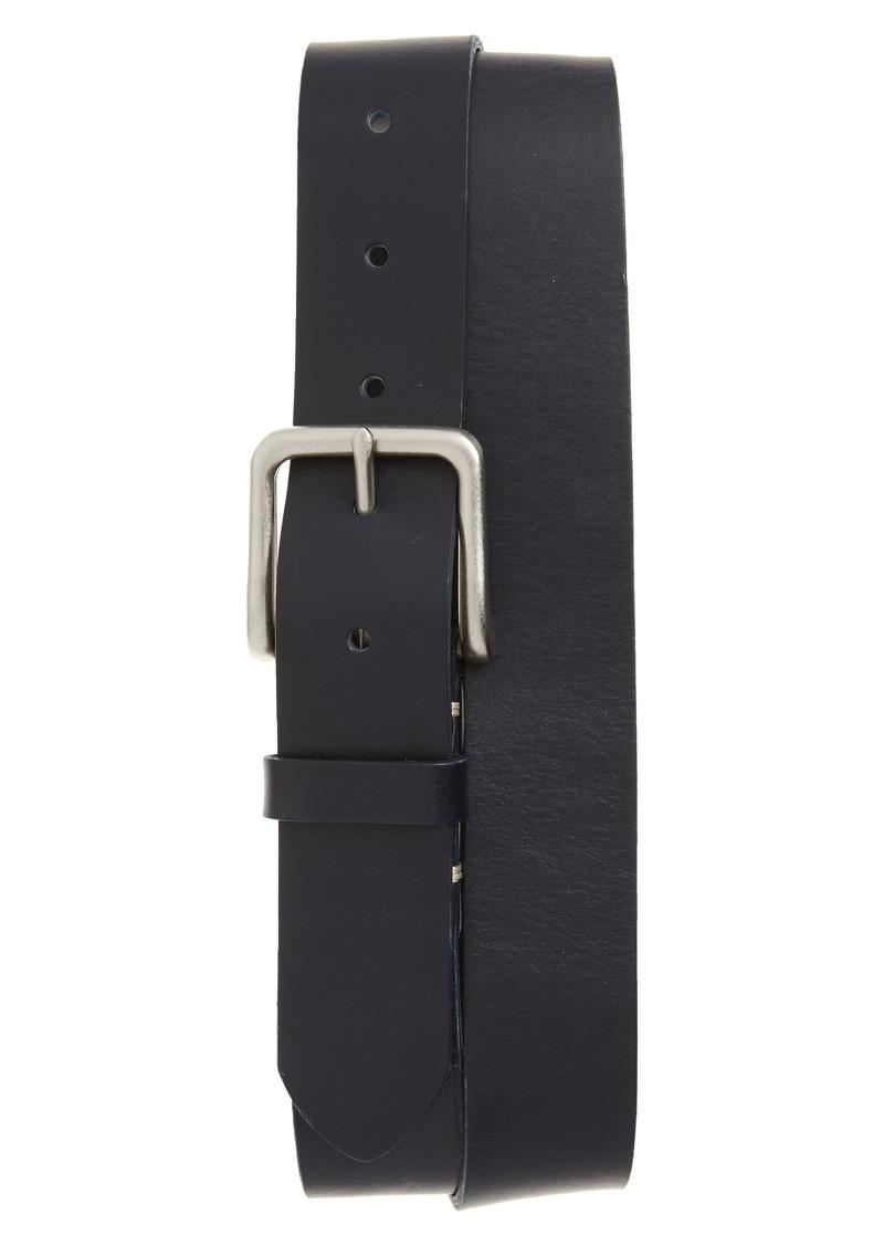 1901 Moro Bar Tack Leather Belt