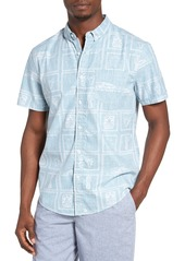 1901 Nautical Print Woven Shirt