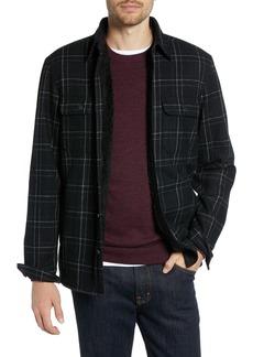 1901 Plaid Fleece Lined Shirt Jacket