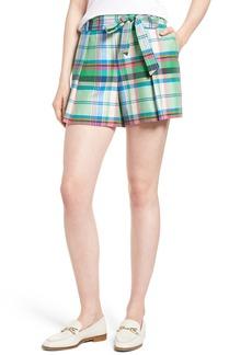 1901 Pleated Plaid Shorts