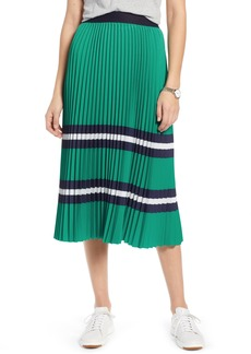 1901 Pleated Polo Midi Skirt (Regular & Petite)