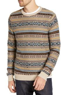 1901 Regular Fit Fair Isle Crewneck Sweater