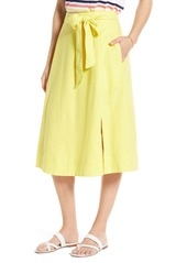 1901 Side Slit Midi Skirt (Regular & Petite)