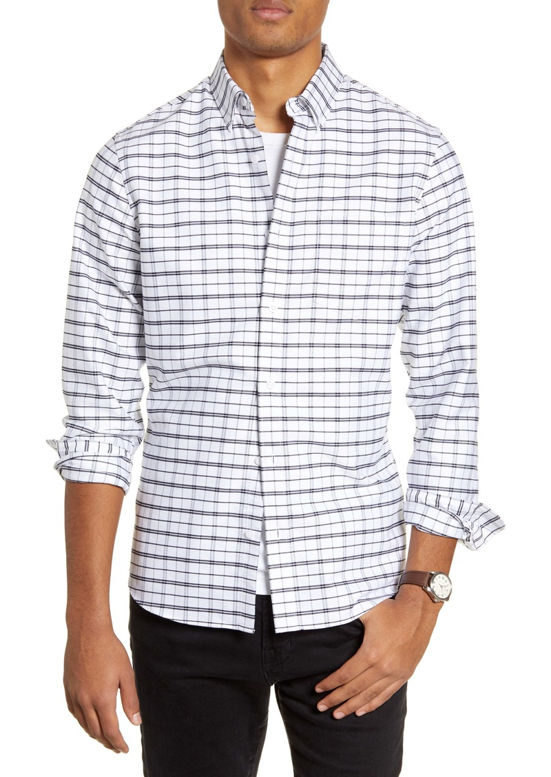 1901 Slim Fit Check Button-Down Shirt