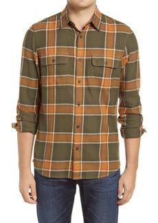 1901 Slim Fit Plaid Flannel Shirt