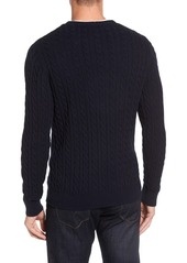 1901 Spire Cable Knit Crewneck Sweater