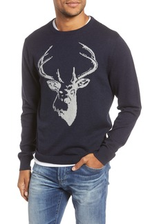 1901 Stag Cotton & Cashmere Sweater