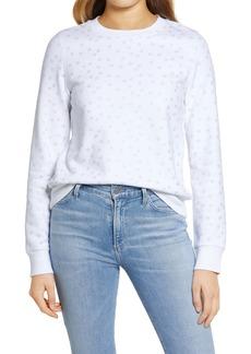 1901 Stars Graphic Cotton Blend Sweatshirt
