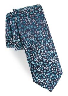1901 Sula Floral Silk Tie