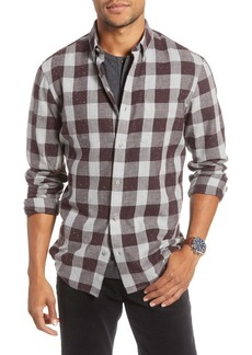 1901 Trim Fit Buffalo Check Button-Down Sport Shirt