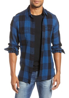 1901 Trim Fit Buffalo Check Button-Up Shirt