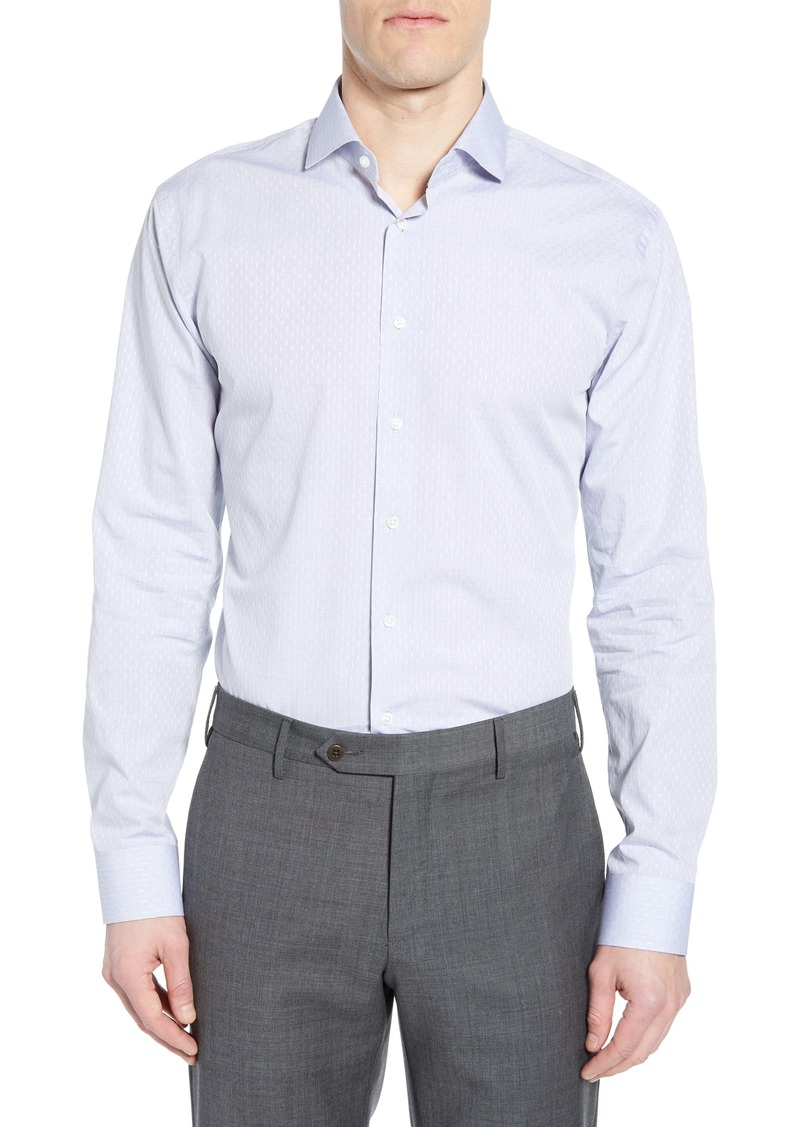 1901 Trim Fit Dot Dress Shirt