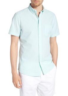 1901 Trim Fit Seersucker Short Sleeve Sport Shirt