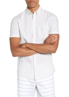 1901 Trim Fit Short Sleeve Button-Down Shirt