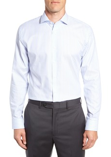 1901 Trim Fit Stripe Dress Shirt