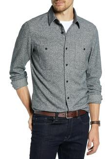 1901 Trim Fit Workwear Flannel Sport Shirt