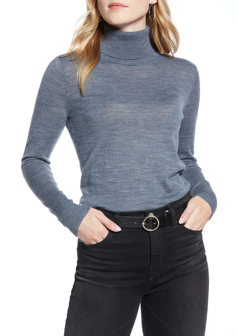 1901 Turtleneck Merino Wool Blend Sweater