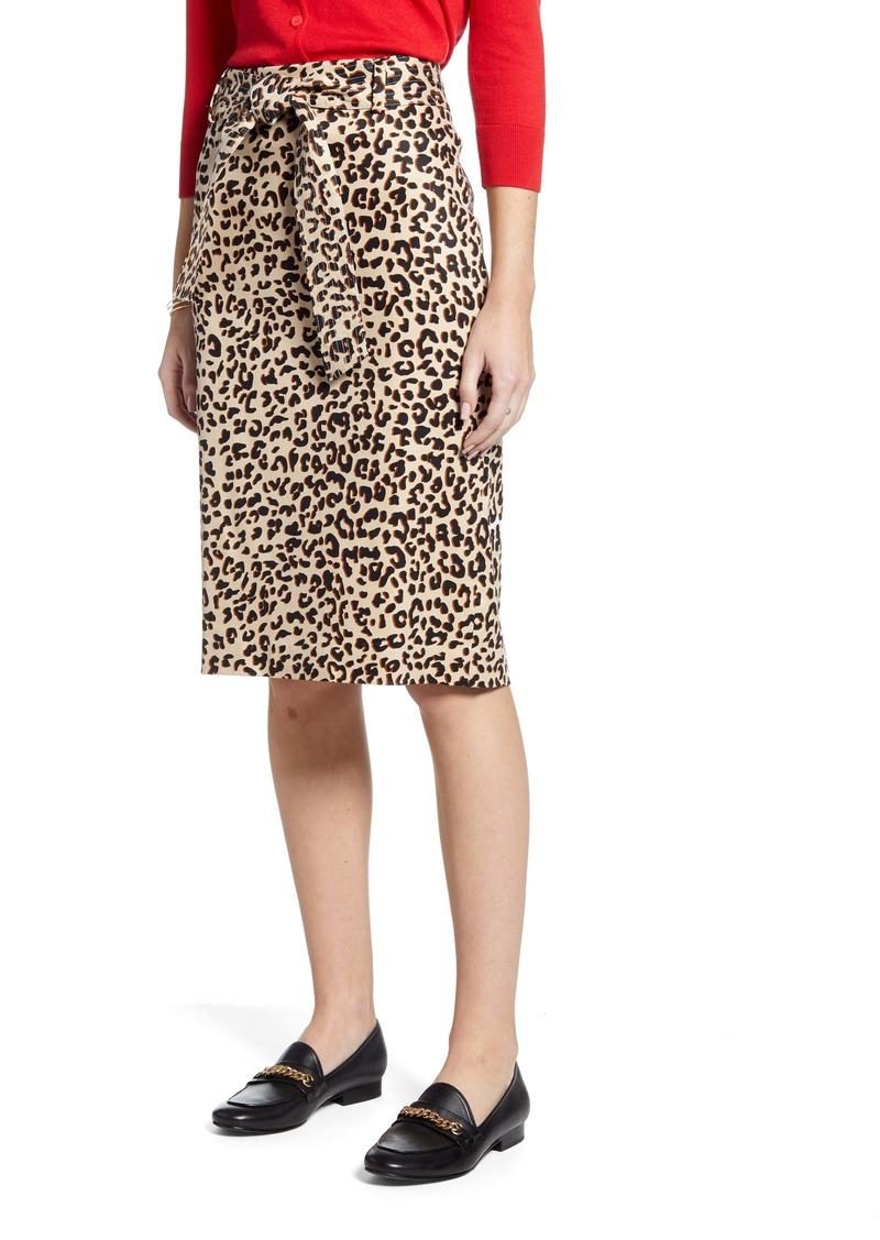 1901 Twill Pencil Skirt (Regular & Petite)