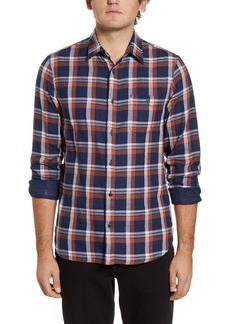 1901 Utility Trim Fit Plaid Button-Up Shirt