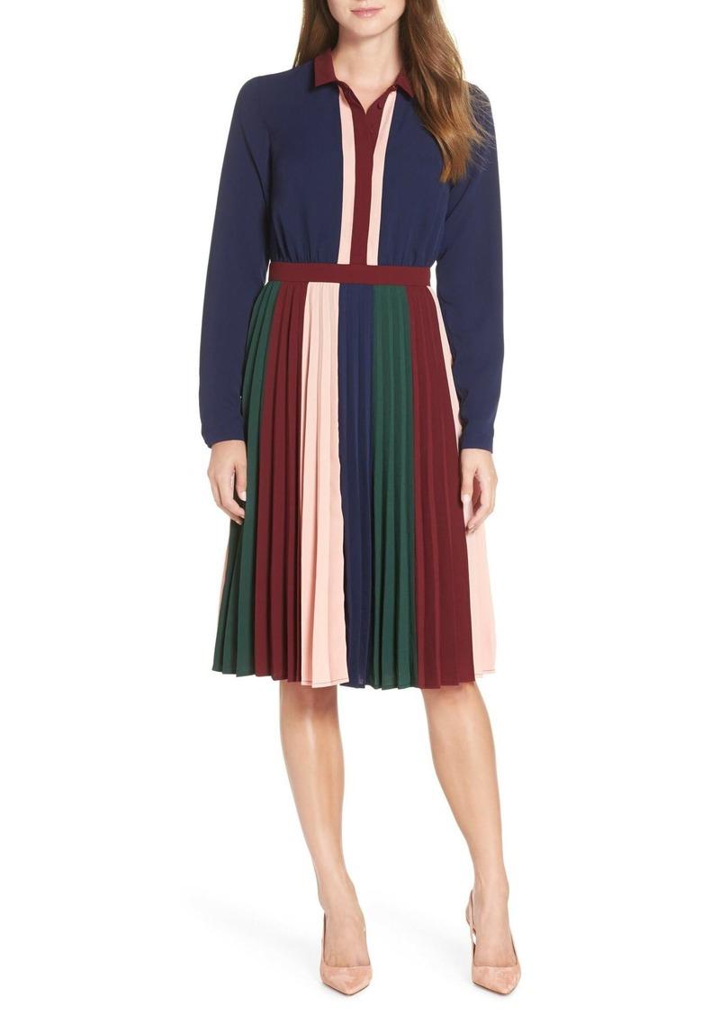1901 Colorblock Midi Dress
