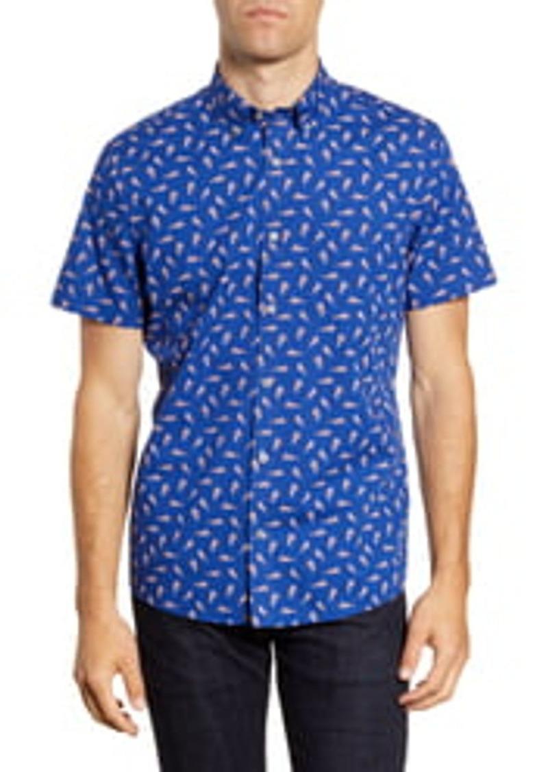 1901 Cheetahs Prowl Short Sleeve Shirt